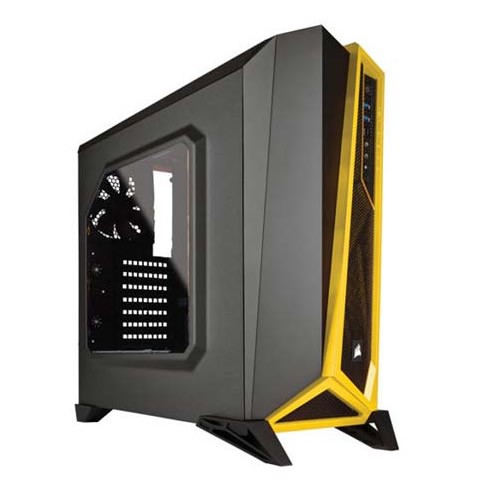 Corsair Carbide SPEC-ALPHA Negro/Amarillo