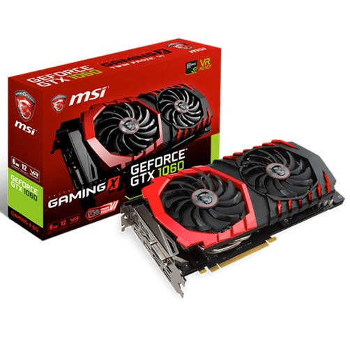 MSI GeForce GTX 1060 Gaming X 6 GB