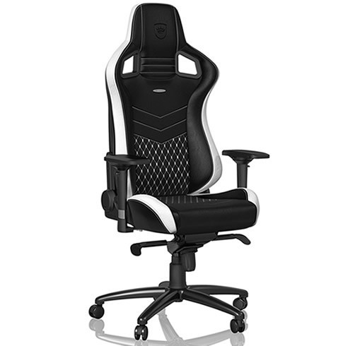 NOBLECHAIRS EPIC - CUERO GENUINO - NEGRO/BLANCO