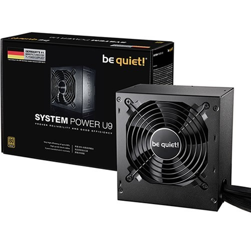 BE QUIET! SYSTEM POWER 500W - 80 PLUS BRONZE