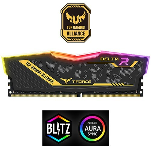 TEAMGROUP T-FORCE DELTA TUF RGB 8 GB DDR4 2400