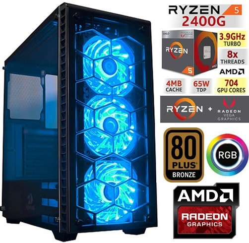 XTREMEPC DRAGON 5 ELITE - RGB