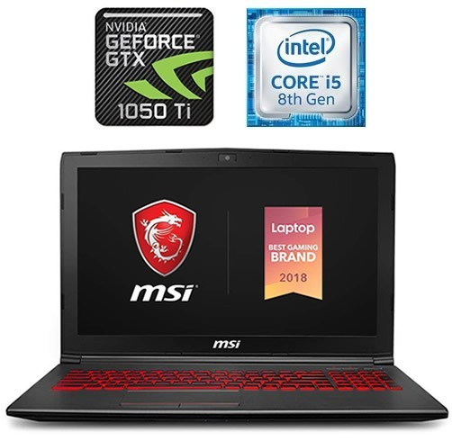 MSI GV62 8RD - CORE I5 - GTX 1050TI 4 GB