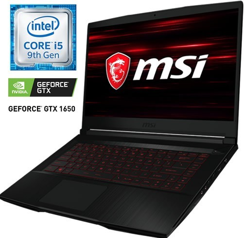 MSI GF63 9SC - CORE I5 9300H - GTX 1650 4 GB