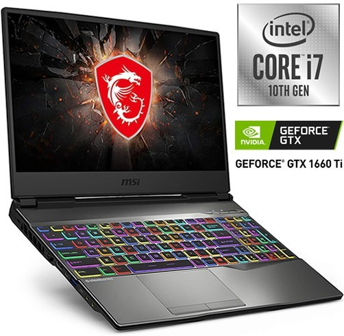 MSI GP65 LEOPARD - I7 10750H - GTX 1660TI 6 GB - 120 HZ