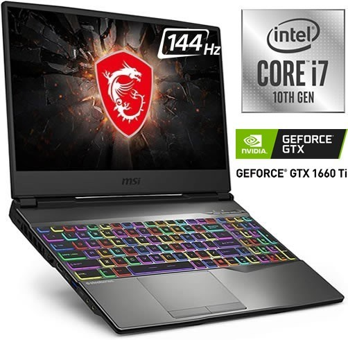 MSI GP65 LEOPARD - I7 10750H - GTX 1660TI 6 GB - 144 HZ