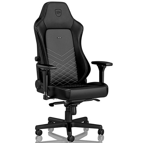 NOBLECHAIRS HERO- NEGRO / PLATINUM