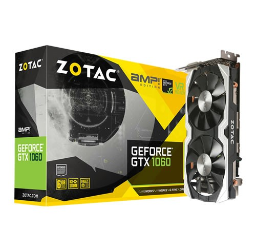 ZOTAC GeForce GTX 1060 AMP! 6 GB