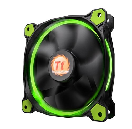 Thermaltake Riing 120 LED Verde