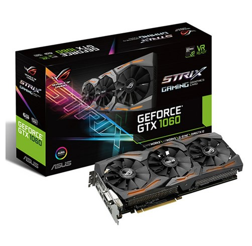 ASUS GeForce GTX 1060 STRIX 6 GB