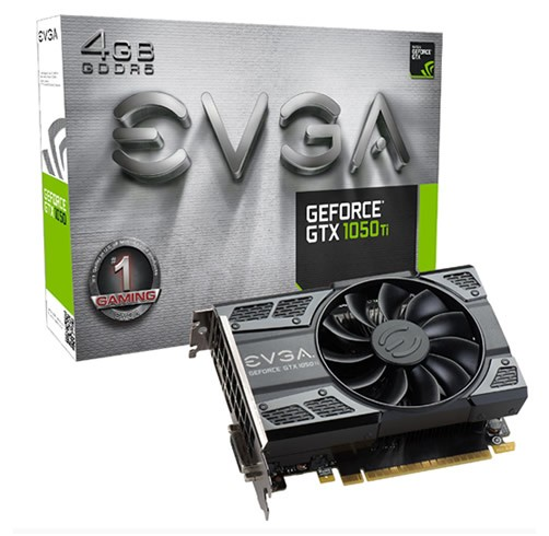 EVGA GeForce GTX 1050 Ti 4 GB